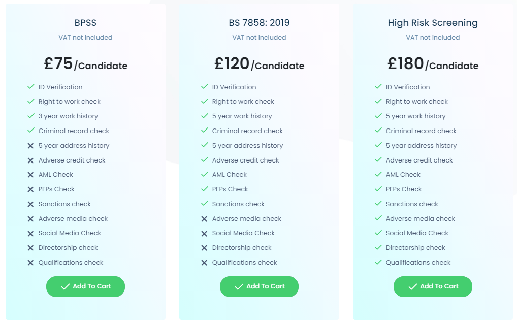 Complygate Human-In-The-Loop Package Prices